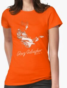Rory Gallagher Irish tour 74 Womens Fitted T-Shirt