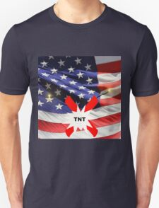 American Flag with Dynomite T-Shirt
