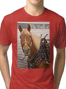All Dressed Up And No Place To Go Tri-blend T-Shirt