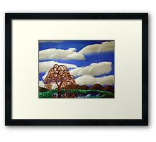 Willow Reflections Framed Print