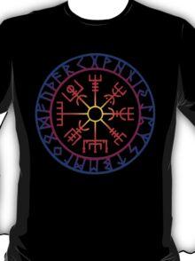 Vegvísir (Icelandic 'sign post') Symbol - SUMMER T-Shirt