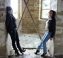 PhotoShoot in the old mill #023 by Andy Beattie