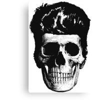 Rockabilly Skull Canvas Print