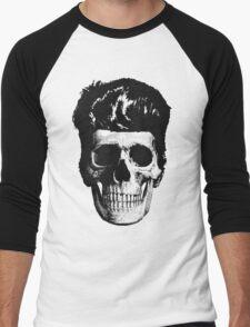 Rockabilly Skull Men's Baseball ¾ T-Shirt