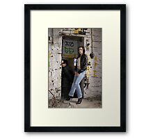 PhotoShoot in the old mill #034 Framed Print