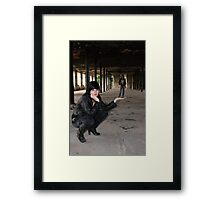PhotoShoot in the old mill #037 Framed Print