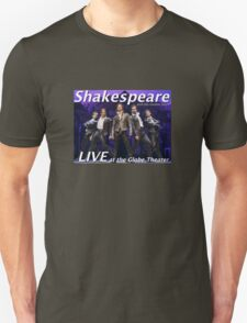 Shakespeare and the leather boys LIVE Unisex T-Shirt