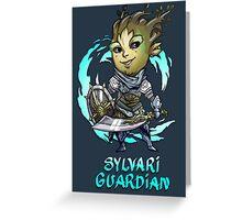 Sylvari Guardian Greeting Card