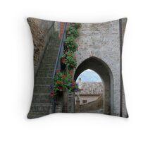Torre di Palme Throw Pillow