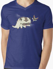 Flying Buddies Mens V-Neck T-Shirt
