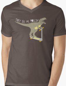 They See Me Rollin' - Dark shirt version Mens V-Neck T-Shirt