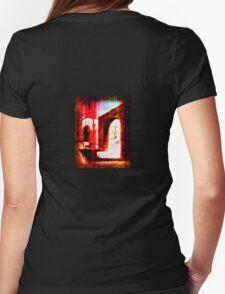 demonic doorway Womens Fitted T-Shirt