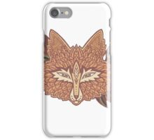Fox head. Native american style. Ethnic animals iPhone Case/Skin