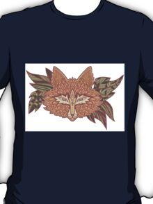 Fox head. Native american style. Ethnic animals T-Shirt