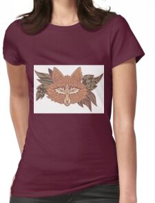 Fox head. Native american style. Ethnic animals Womens Fitted T-Shirt