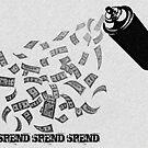 Money Talks: The True Vandalism of Society by GraphicMonkey