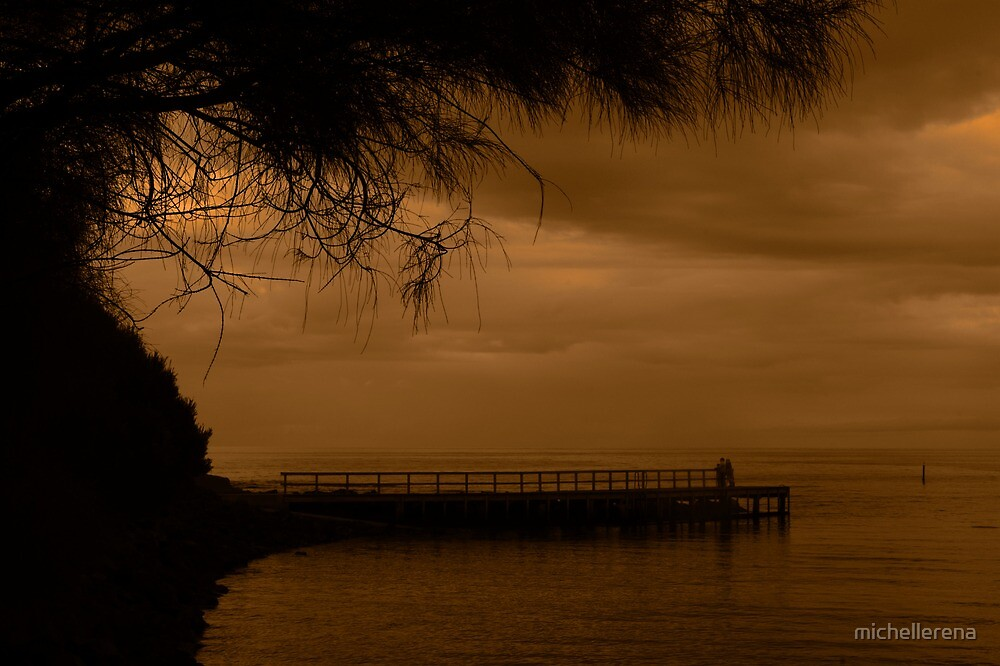 Jetty with a view by michellerena