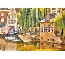 Buyldragers Huis - Lier - Belgium Photographic Print
