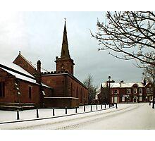Winter snow Photographic Print