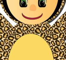 Little Jaguar Doll Sticker