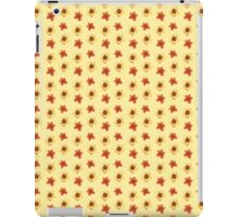 Watercolor red ans yellow tulips. iPad Case/Skin