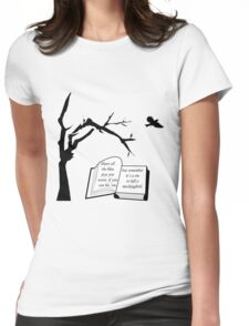 A Sin To Kill A Mockingbird Womens Fitted T-Shirt
