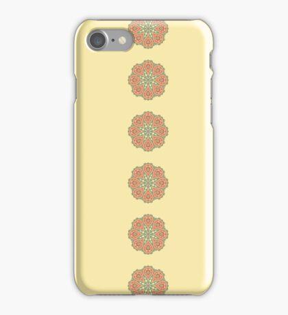 Oriental round ornament.  iPhone Case/Skin