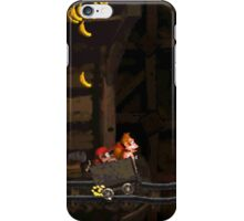 Donkey Kong Country - Mine Cart Carnage iPhone Case/Skin