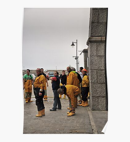 Lifeboat Crew Poster