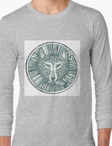 Wolf head. Native american style. Ethnic animals illustration.  Long Sleeve T-Shirt