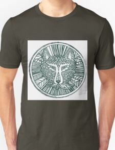 Wolf head. Native american style. Ethnic animals illustration.  Unisex T-Shirt