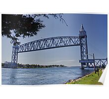 Cape Cod Canal Railroad Bridge, Massachusetts Poster
