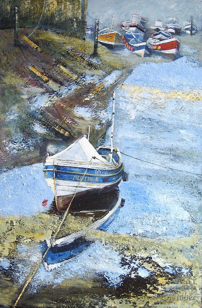 Pilot Me B, Roxby Beck, Staithes by Sue Nichol