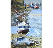 Pilot Me B, Roxby Beck, Staithes Photographic Print