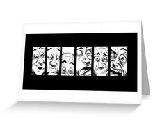 Deaf Faces Greeting Card
