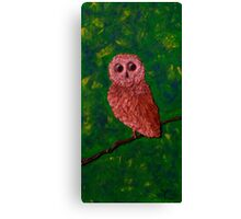 Young Wisdom Canvas Print