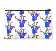 2 Headed Deer Creature Studio Pouch