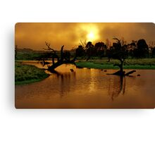 """Copper Dawn"" Canvas Print"