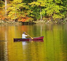 Peaceful Canoe by Elise Armstrong