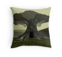 The Legend of Zelda - Great Deku Tree Throw Pillow