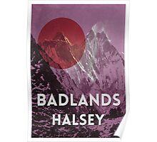 Badlands Halsey Poster