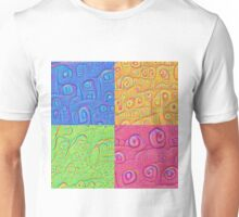 Deep Dreaming of a Color World 3K Unisex T-Shirt
