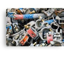 Bits and Bolts Canvas Print