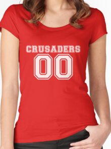 Crusader Jersery Replica - White Women's Fitted Scoop T-Shirt