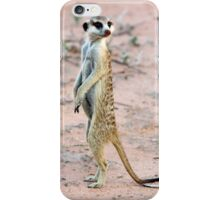 Meerkat Sentinel iPhone Case/Skin