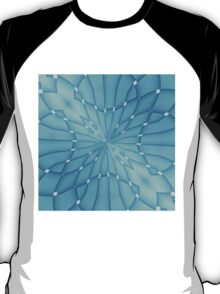Blue and Turquoise Metallic Star T-Shirt
