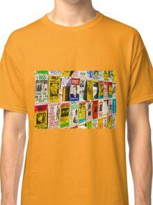 Pop Art Wall Classic T-Shirt