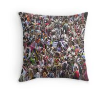 Gathering of Nations Pow-Wow Throw Pillow