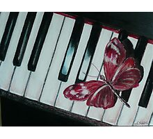 Music brings new life! Photographic Print