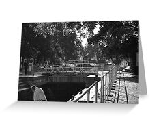 Boulters Lock, Maidenhead, Berkshire Greeting Card